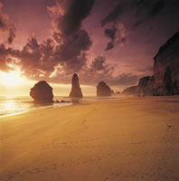 12 Apostles at sunset - photo by Peter Dunphy